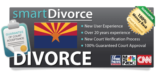 Help with filing divorce papers arizona