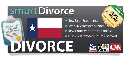 divorce papers texas